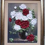 Картины и панно ручной работы. Ярмарка Мастеров - ручная работа Пионов чудный аромат.... Handmade.