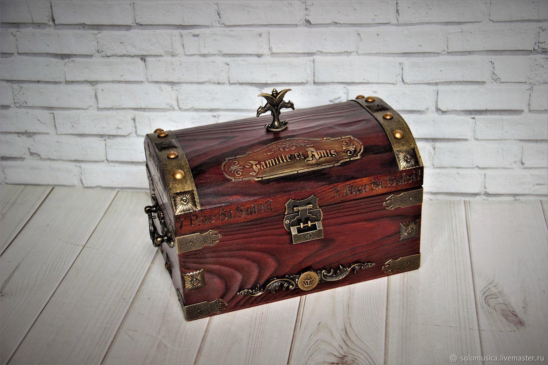 Chest 'Secrets of the knight's order', Box, Krasnodar,  Фото №1