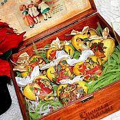 """Подарки к праздникам ручной работы. Ярмарка Мастеров - ручная работа Набор новогодний""""Винтажное настроение-2"""". Handmade."""