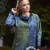 Одежда ручной работы. Ярмарка Мастеров - ручная работа Жакет валяный из мериносовой шерсти Грибной дождь. Handmade.