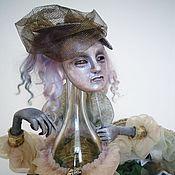 Portrait Doll handmade. Livemaster - original item Interior composition