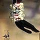 """Браслеты ручной работы. Ярмарка Мастеров - ручная работа. Купить Браслет """"Хрустальный Жемчуг"""" безразмерный из жемчуга и кристаллов. Handmade. Белый"""