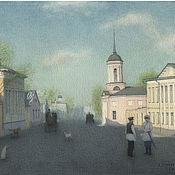 Pictures handmade. Livemaster - original item Buy painting with slip Mat Moscow Bolshaya Ordynka. Handmade.