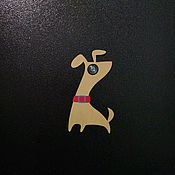 Для дома и интерьера handmade. Livemaster - original item Trim door eye Dog. Handmade.