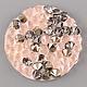 Для украшений ручной работы. Ярмарка Мастеров - ручная работа. Купить Crystal Rocks    Peach Gold   Кристал Рокс. Handmade.