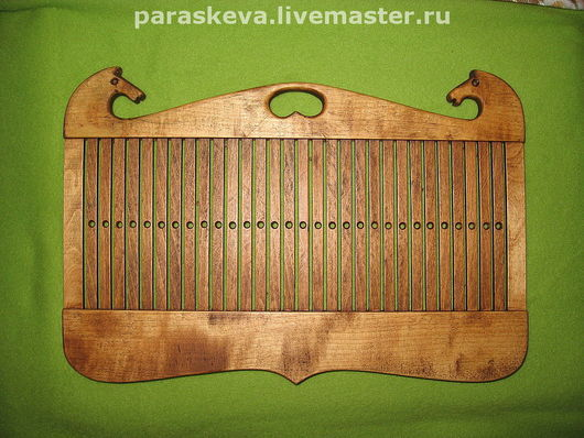 Другие виды рукоделия ручной работы. Ярмарка Мастеров - ручная работа. Купить бердо. Handmade. Инструмент для ткачества, шарф, дерево