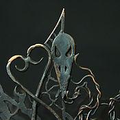 Канцелярские товары ручной работы. Ярмарка Мастеров - ручная работа Halloween визитница. Handmade.