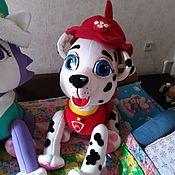 Куклы и игрушки handmade. Livemaster - original item Marshal. Theatrical tablet doll rescue puppy.. Handmade.