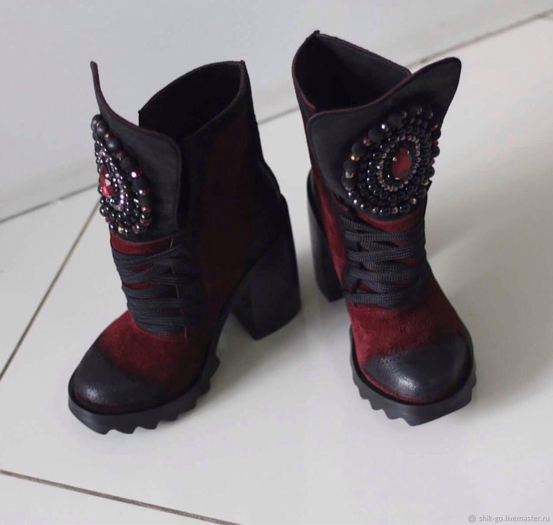 Сапоги-ботинки с камнями, Ботинки, Оренбург, Фото №1