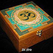 Для дома и интерьера handmade. Livemaster - original item Box for tea bags OM. Handmade.