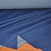 Ткани ручной работы. Ярмарка Мастеров - ручная работа Вареная джинса стрейч из Италии. Handmade.