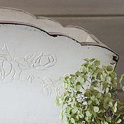 """Цветы и флористика ручной работы. Ярмарка Мастеров - ручная работа Кашпо, контейнер, короб для цветов"""" Шебби сад"""". Handmade."""