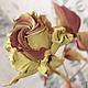"""Букеты ручной работы. Заказать Роза из замши """"Настенька"""". Инна Шкуропат 'ROSEBUD'. Ярмарка Мастеров. Интерьерная композиция, цветок из кожи"""