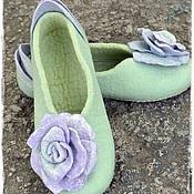 """Обувь ручной работы. Ярмарка Мастеров - ручная работа тапочки """" Delicacy"""". Handmade."""