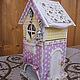 чайный домик `Любовное гнездышко`.Вид сбоку.