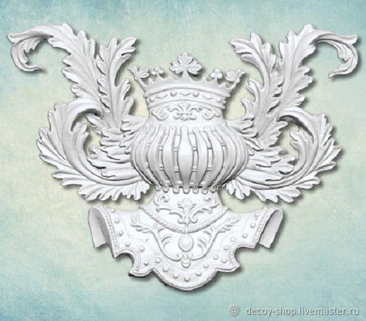 Mold 'Heraldic decor item'. ARTMD0664, Elements for decoupage and painting, Serpukhov,  Фото №1