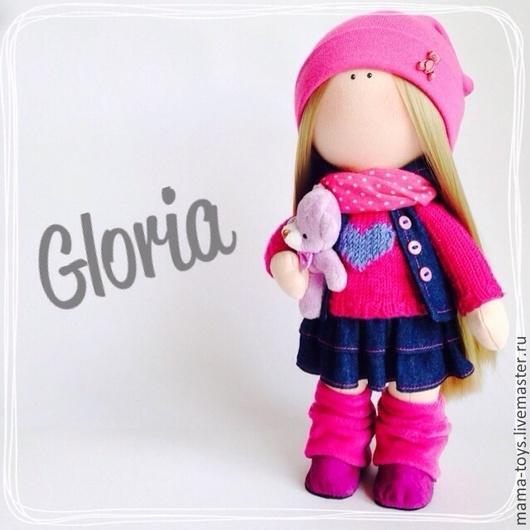 Коллекционные куклы ручной работы. Ярмарка Мастеров - ручная работа. Купить Маленькая интерьерная кукла Глория. Handmade. Интерьерная кукла