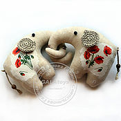 Куклы и игрушки handmade. Livemaster - original item Elephant. textile toy.. Handmade.