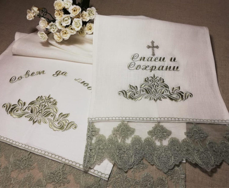 Рушники свадебные на  заказ, Рушники свадебные, Москва,  Фото №1