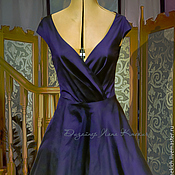 Одежда handmade. Livemaster - original item Dress-retro