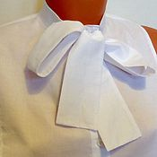 Аксессуары handmade. Livemaster - original item Accessory Manicnka / cotton, white. Handmade.
