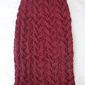 Одежда ручной работы. Ярмарка Мастеров - ручная работа Зимняя вязаная юбка. Handmade.