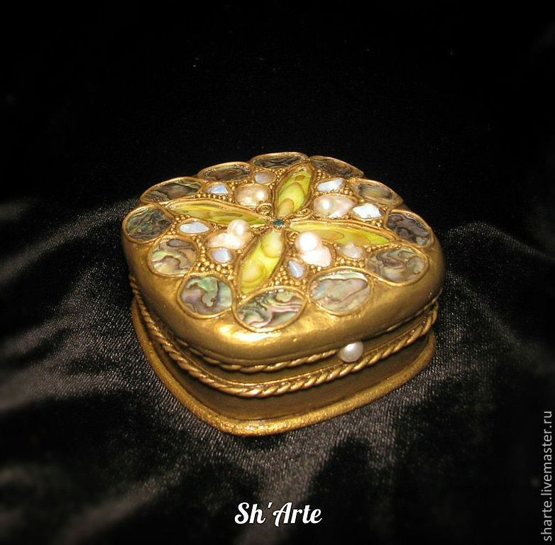 Jewelry box mother of Pearl dream, Box, Moscow, Фото №1