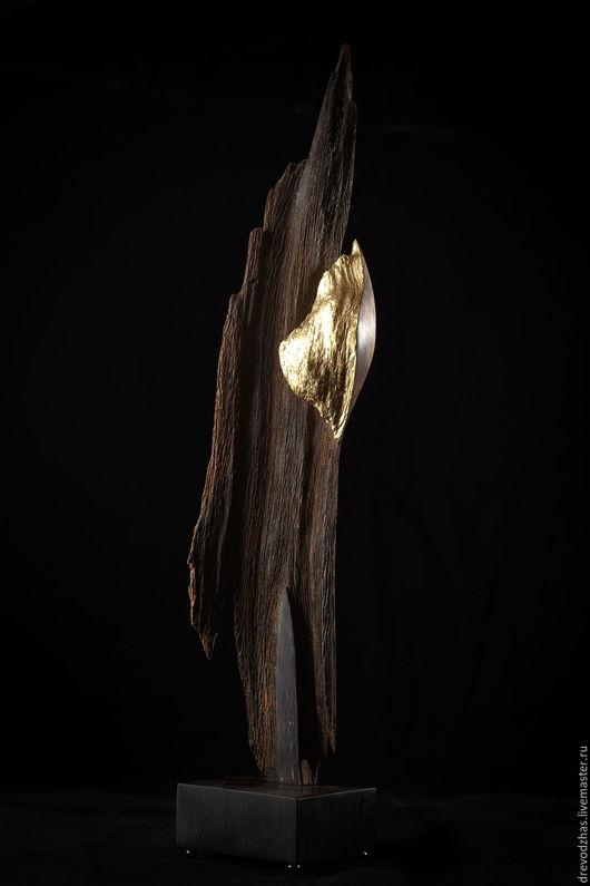 Элементы интерьера ручной работы. Ярмарка Мастеров - ручная работа. Купить Скульптура из Агарового дерева «Не все то золото что блестит». Handmade.