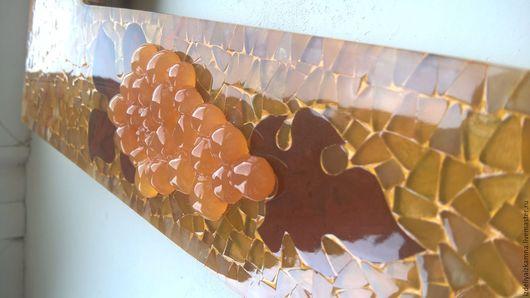 Комплекты аксессуаров ручной работы. Ярмарка Мастеров - ручная работа. Купить мозаичная рама. Handmade. Оранжевый, позолота, эксклюзив