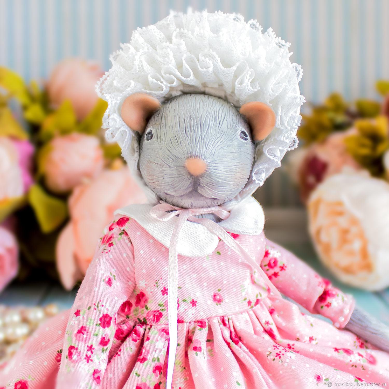 Ева мышь, крыса, символ года 2020, новогодний подарок 2020, Шарнирная кукла, Нижний Новгород,  Фото №1
