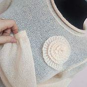 """Одежда ручной работы. Ярмарка Мастеров - ручная работа Вязаная туника """"Чайная роза"""". Handmade."""