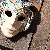 Для дома и интерьера handmade. Livemaster - original item Interior mask with ornamental pattern. Handmade.