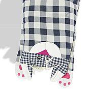 Мягкие игрушки ручной работы. Ярмарка Мастеров - ручная работа Декоративный чехол на вашу подушку в виде зверюшки.. Handmade.