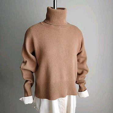 """Одежда ручной работы. Ярмарка Мастеров - ручная работа Свитер """"кроп"""" женский. Handmade."""