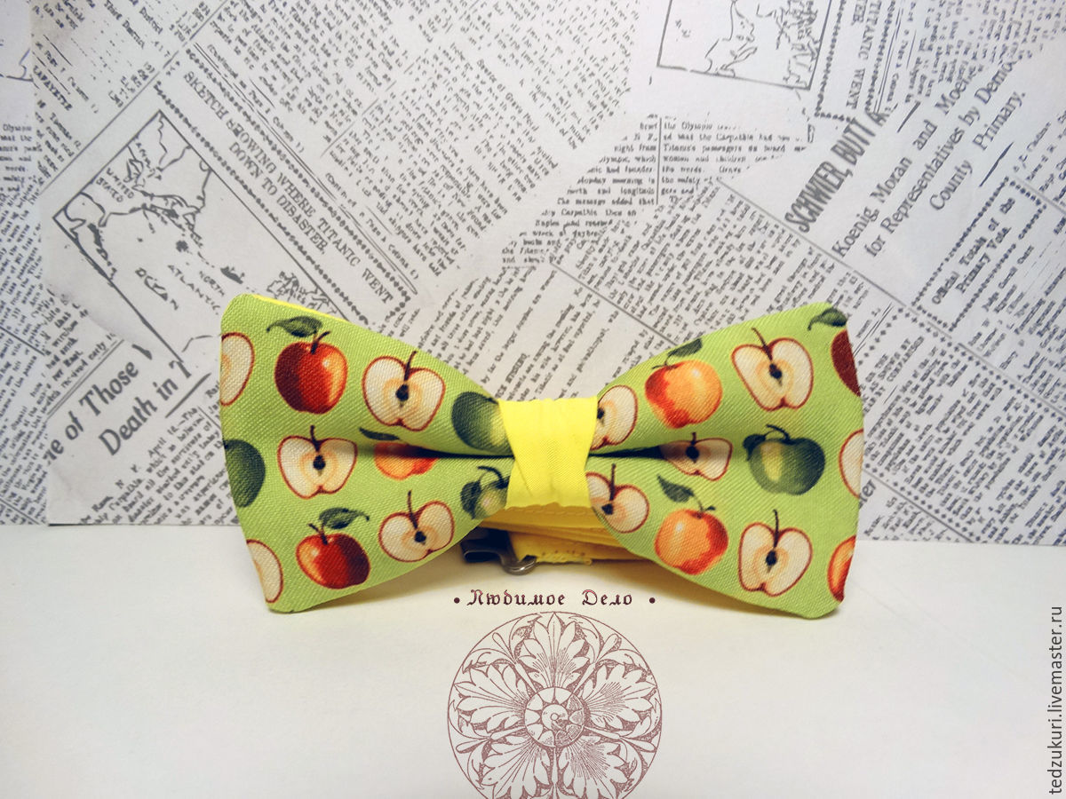 Tie Apples/ fruits/ sweets, Butterflies, Rostov-on-Don,  Фото №1