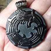 Подвеска ручной работы. Ярмарка Мастеров - ручная работа Кулон- Кетцалькоатль — «Пернатый змей ацтеков». Handmade.