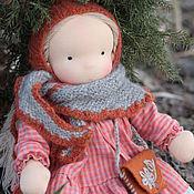 Вальдорфские куклы и звери ручной работы. Ярмарка Мастеров - ручная работа Вальдорфская кукла Ясенька 33 см. Handmade.