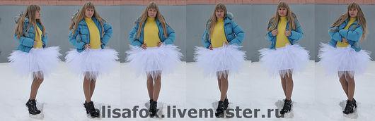 """Юбки ручной работы. Ярмарка Мастеров - ручная работа. Купить юбка - пачка """"Белый лебедь"""". Handmade. Юбка пачка"""
