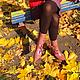 Обувь ручной работы. Сапоги женские кожаные Лиловые орхидеи Ручная роспись На осень. Росписи Савчук Натальи (rospisi-savchuk). Ярмарка Мастеров.