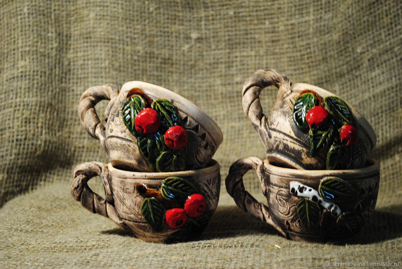 Ceramic mug ' Nature', Souvenirs3, Skopin,  Фото №1