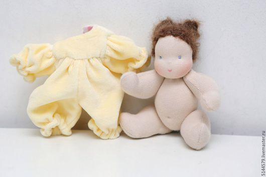 Вальдорфская игрушка ручной работы. Ярмарка Мастеров - ручная работа. Купить Малышка Вальдорфская кукла. Handmade. Вальдорфская кукла