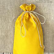 Для дома и интерьера ручной работы. Ярмарка Мастеров - ручная работа Мешочек для хлеба или печенья из хлопка. Handmade.