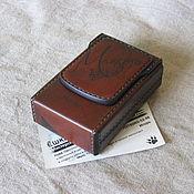 Сувениры и подарки handmade. Livemaster - original item Cigarette case or case for a pack of cigarettes. For creative people.. Handmade.