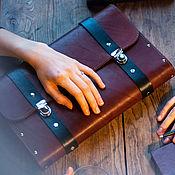 Сумки и аксессуары handmade. Livemaster - original item Mens leather handbag ARNAK tree. Handmade.
