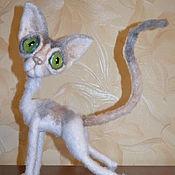 Куклы и игрушки handmade. Livemaster - original item Multi-color Sphinx breed Cornish Rex. Handmade.