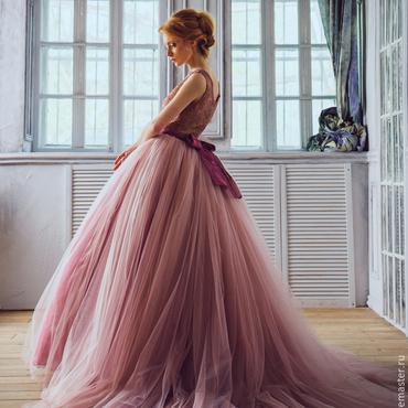"""Одежда ручной работы. Ярмарка Мастеров - ручная работа Платье """" Пудра"""". Handmade."""