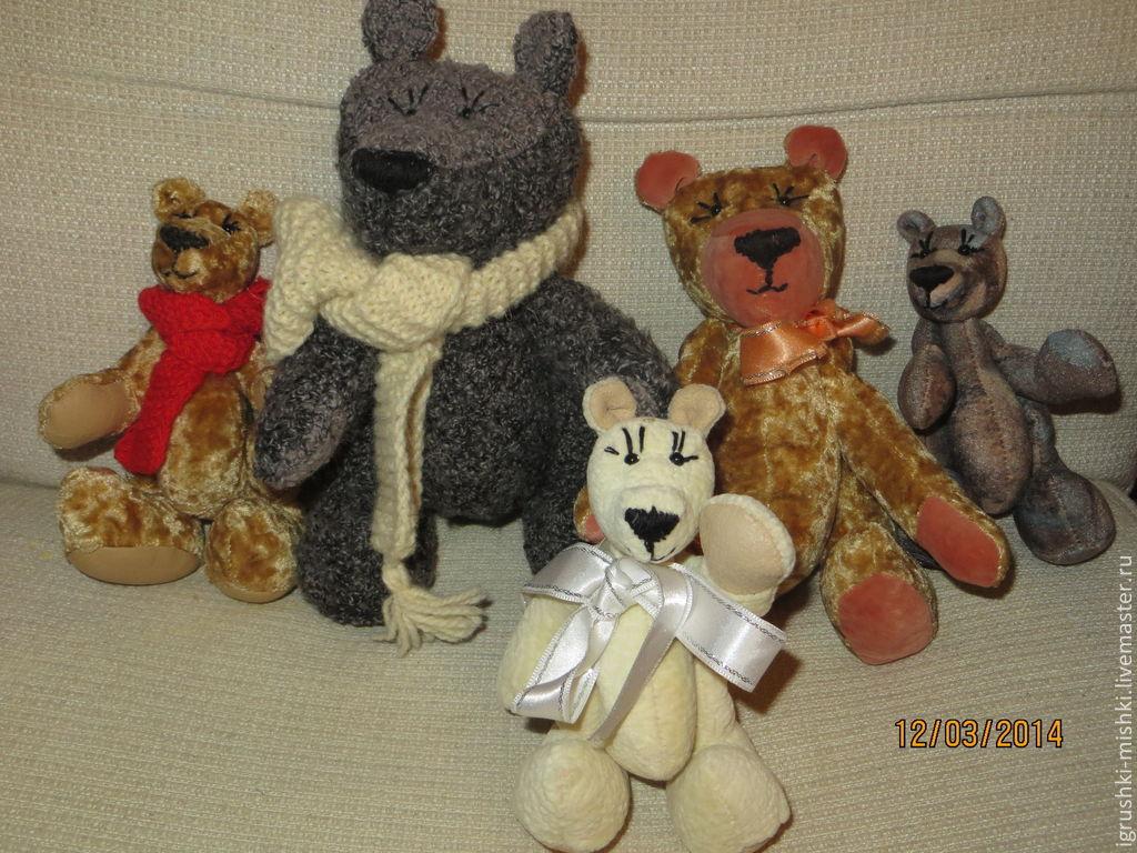 Игрушки животные, ручной работы. Ярмарка Мастеров - ручная работа. Купить Мишки мягкие игрушки. Handmade. Медведь, мишка