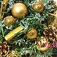 Новый год 2017 ручной работы. Новогодний рог изобилия подарок на Новый Год Новогодний подарок. Ника Окунева 'ZEFIRKI'. Ярмарка Мастеров.