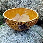 Посуда ручной работы. Ярмарка Мастеров - ручная работа Салатник керамический. Handmade.