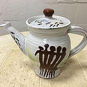 """Посуда ручной работы. Ярмарка Мастеров - ручная работа Чайник """"древность"""". Handmade."""